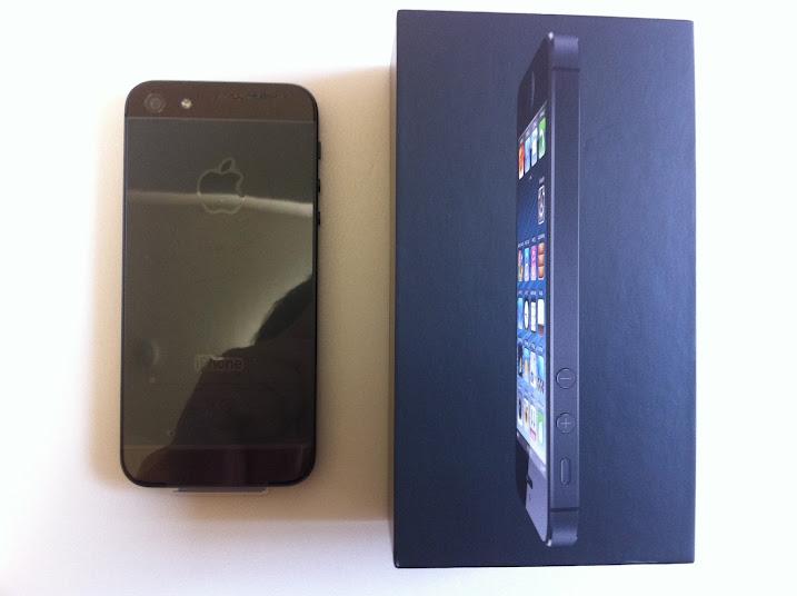 【報告】iPhone5をゲットしました。