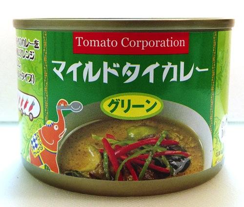 トマトコーポレーション 缶詰タイカレー 100円