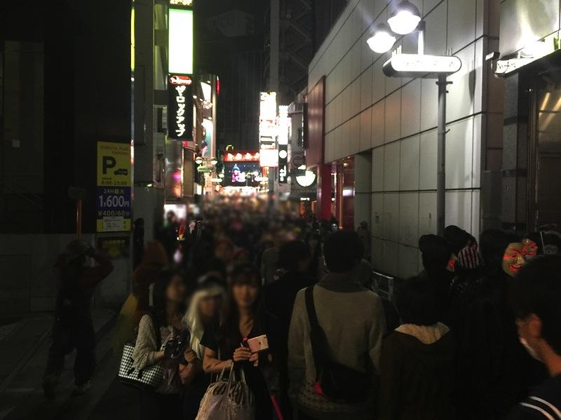 渋谷 ハロウィン センター街