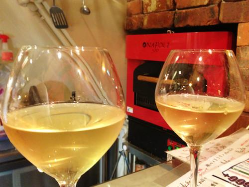俺のイタリアン 白ワイン