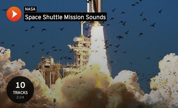 NASA 音声 データ 音源 無料 入手方法 SoundCloud