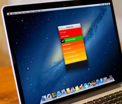 Clear MacAPP版など…最近気になっているMac用アプリの備忘録。