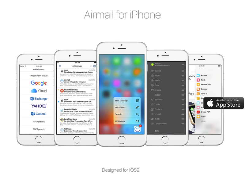 Airmail iphone ios