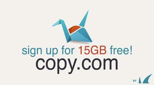 DropBoxじゃ足りないアナタへ15GBから始まる『Copy』はいかがですか?
