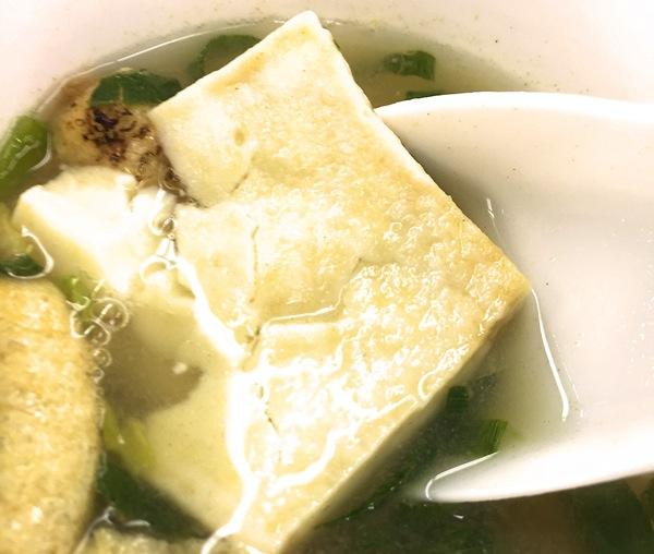 アマノフーズ 豆腐 味噌汁