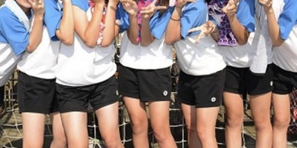 カワイイと人気者に?!可愛いはちまきの巻き方。体育祭や運動会でどうぞ。