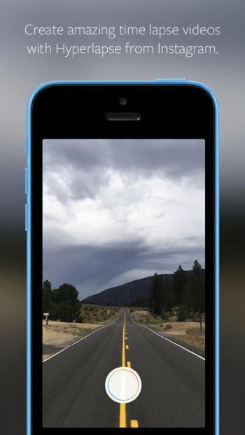 Hyperlapse タイムラプス iOS インスタ