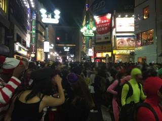 【悠游字的】渋谷のハロウィンに行ってきた、その感想。