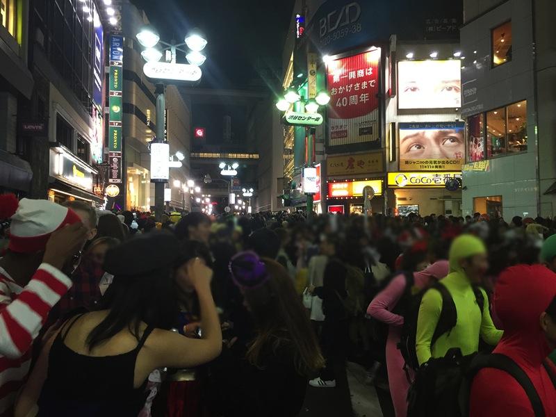 ハロウィン 渋谷 センター街