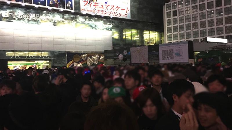渋谷駅 ハロウィン