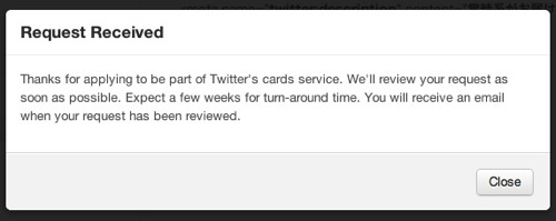 Twitter カード 設定 失敗 対処