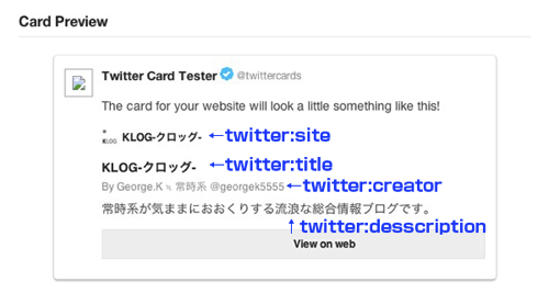 Twittercards カード 日本語 wordpress