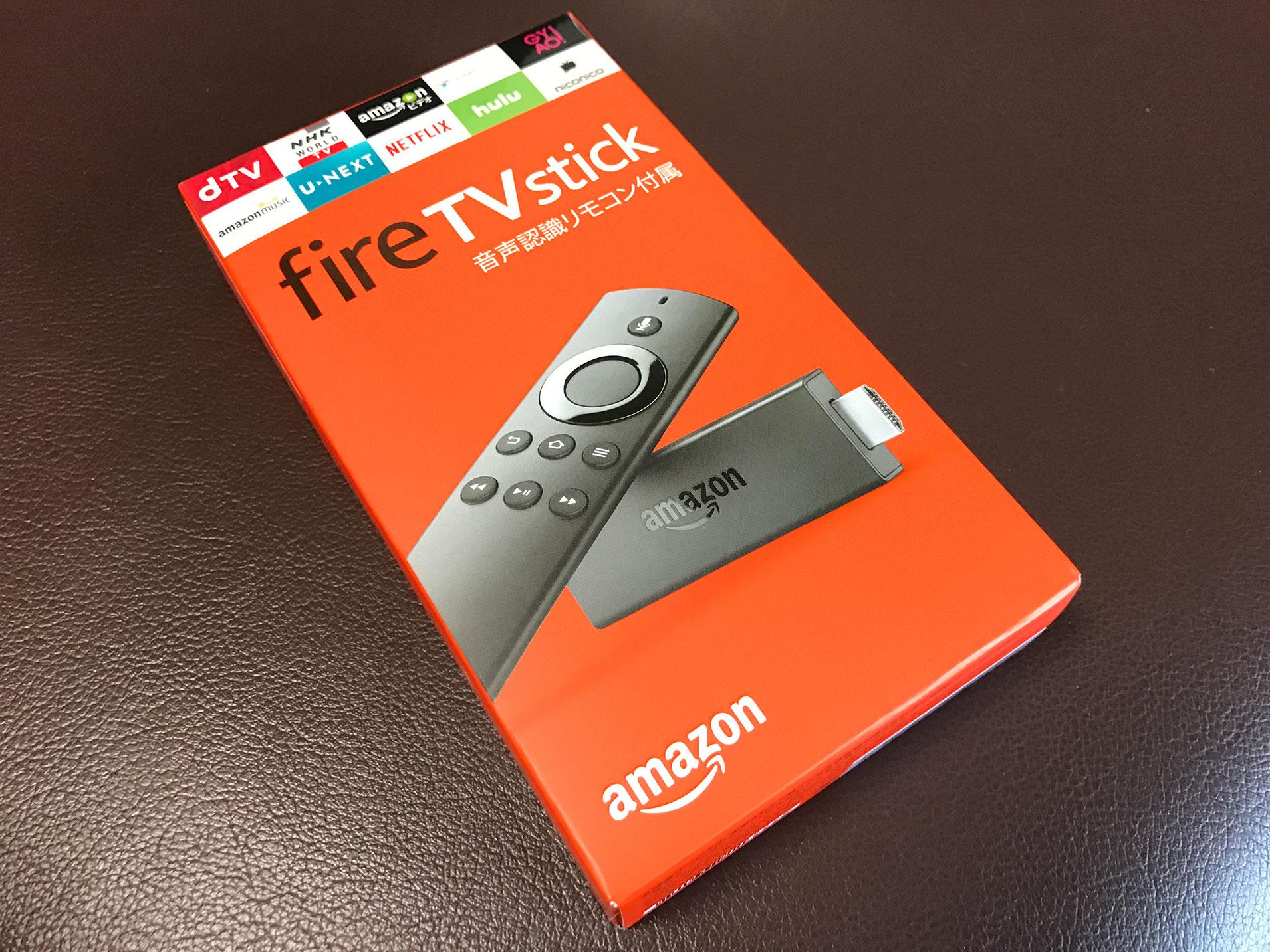 fireTVstick 箱