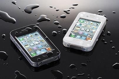 【待望の発売】SoftBankからiPhone4S/4専用の防水ケースが発売!