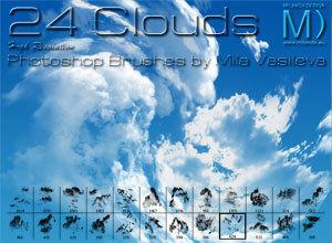 ハリウッドみたいな雲だって簡単に描ける? -Photoshopブラシ150選