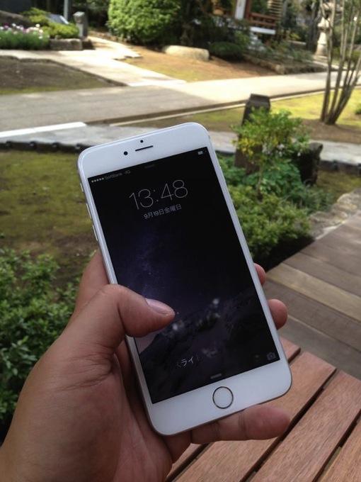 iPhone 6 Plus 128GB シルバーを購入しました。片手フリックの感想など。