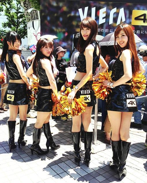 新宿駅前で開催中の4Kビエラ体感フェスに行ってきました!プレゼントもらえた!